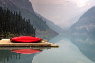 unsplash - canoe